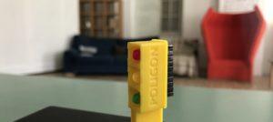 3D model semaforja v Poligonovi učilnici