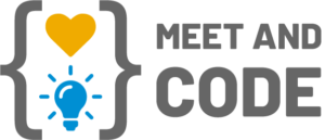 Logotip Meet & Code